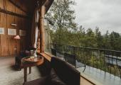 nothafagus hotel suite view to forest