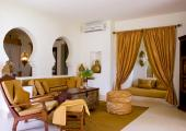 sultans lounge in villas living room