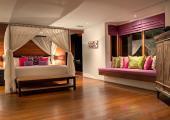 luxury villa bedroom cnagu bali