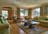 luxury spacious living area chalet for rental