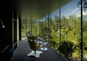great natural wood view minimalistic accomodation