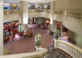 lobby area deluxe hotel munich mandarin oriental