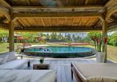 indoor and outdoor living Bali villa holiday