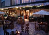 restaurant outdoor terrace over river china chengdu