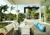 terrace with view luxury exotic