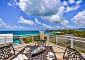 terrace luxury rental villa st martin island