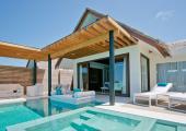 private yard and pool exotic villa Maldives luxury rental