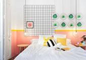modern minimalistic design hostel in valencia