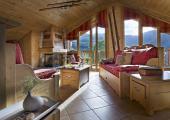 boutique hotel guestrooms view ski slopes