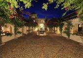 hacienda patio south Spain country holidays