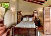 Suite with rustic cozy decoration
