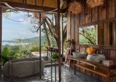 bird nest villa bathroom keemala resort phuket