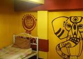 single art hostel room the overstay bangkok