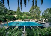 nice outdoor premises luxury hotel