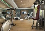 fitness gym chalets du gypse ski holiday hotel