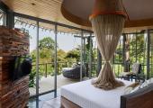 tropical designed furniture luxury villa rental