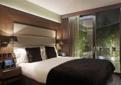 boutique hotel room's nice atmosphere