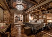 luxury design bedroom ski rental french alps