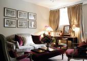 comfort living room of bruges hotel suite