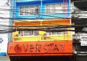 art hostel the overstay at bangkok colourful facade