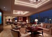 luxury spacious suite hotel shangri-la china