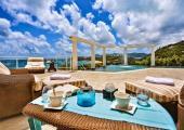 extotic getaway villa at st martin island