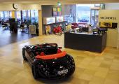 modern power cars hotel v8 germany