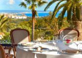 son vida castillo hotel restaurant lush garden