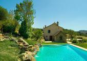 outdoor pool villa for rental spain
