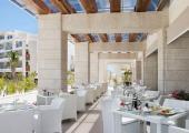 outdoor hotel restaurant terrace