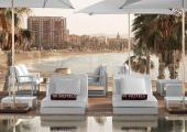 sundeck chairs view barcelonette beach