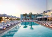 w hotel barcelona sundeck and swimming pool