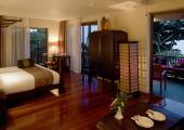 wooden furnished suite sea view anantara bophut resort