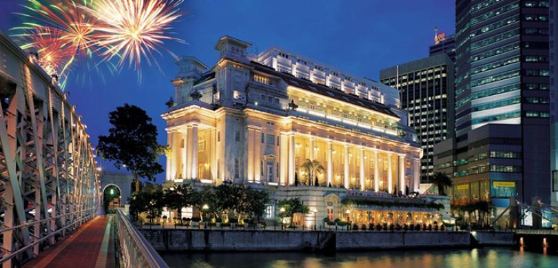 The fullerton hotel singapore for Singapore five star hotel