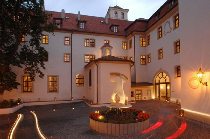 medieval monastery turned into hotel