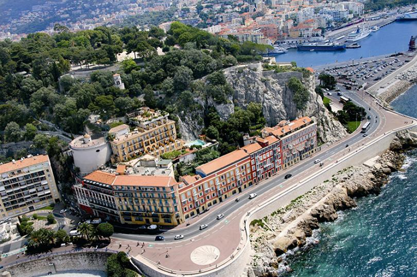 luxury hotel la parouse nice, french riviera