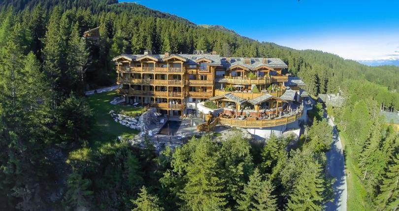 LeCrans Hotel&Spa in Swiss Ski Resort Crans-Montana