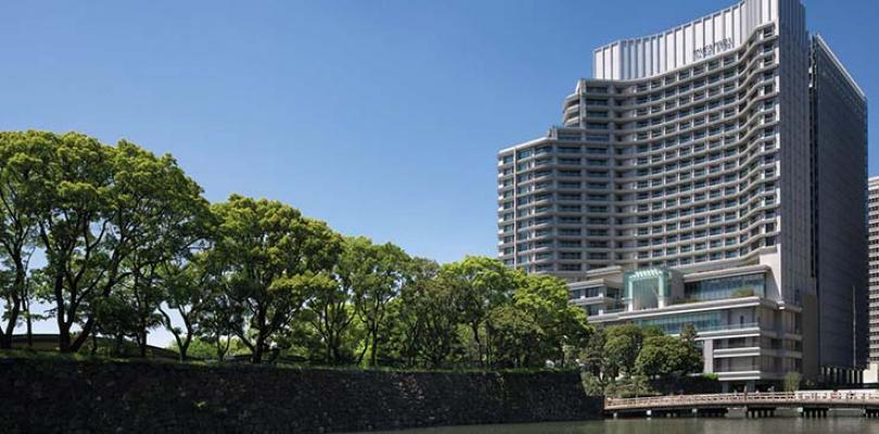 palace hotel tokyo facade