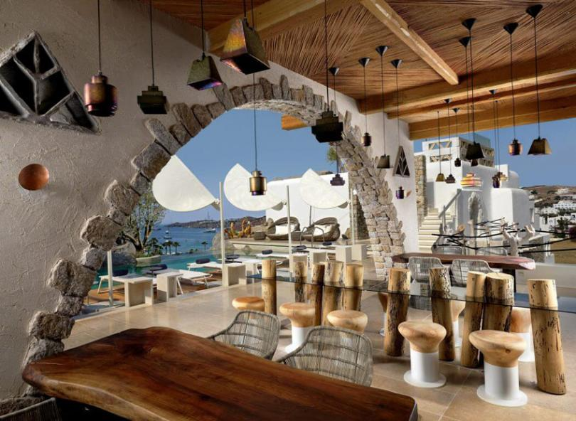 trendy hotels suites luxury vacation mykonos