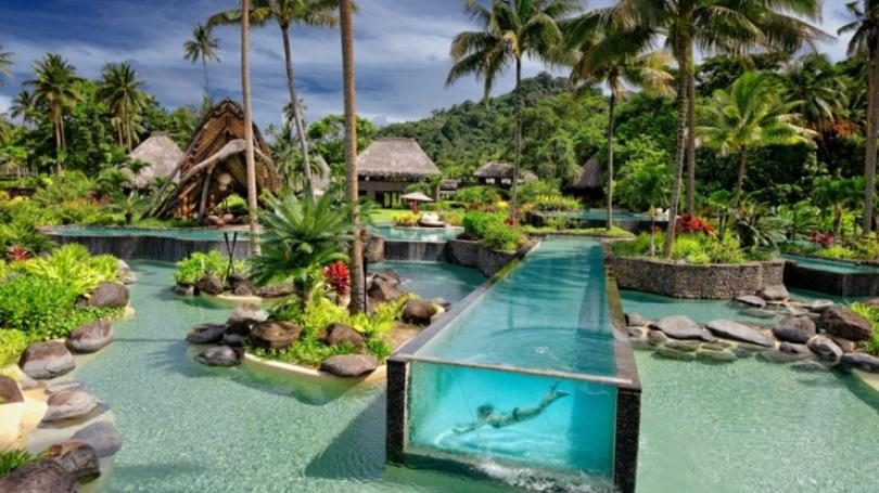 exotic luxury resort fiji