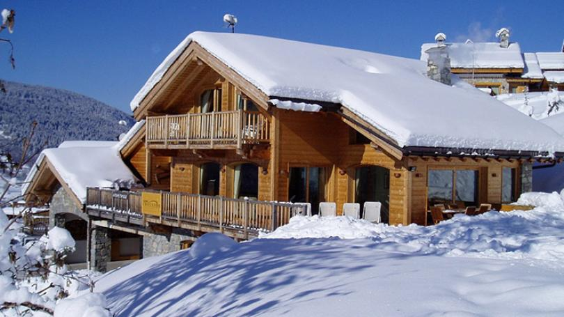 luxury chalet villa ski holiday french alps