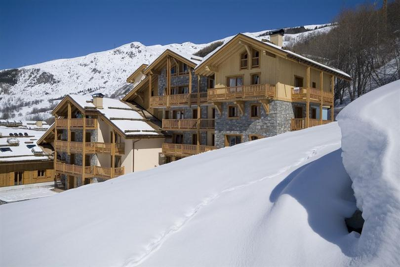 ski vacation boutique hotel st. Martin Bellevile