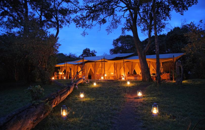 Luxury tent safari Kenya