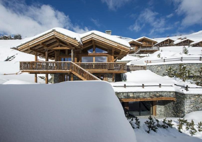 Chalet Sirocco For Luxury Winter Vacation In 4 Valleys Swiss Alps