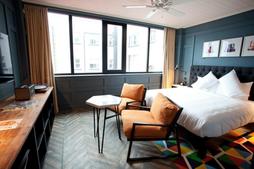 Irish luxury unique design hotel in Dublin