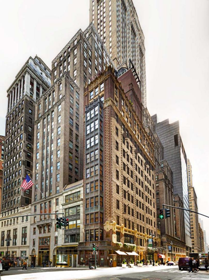 Perfect Library Hotel Manhattan New York Facade Pictures