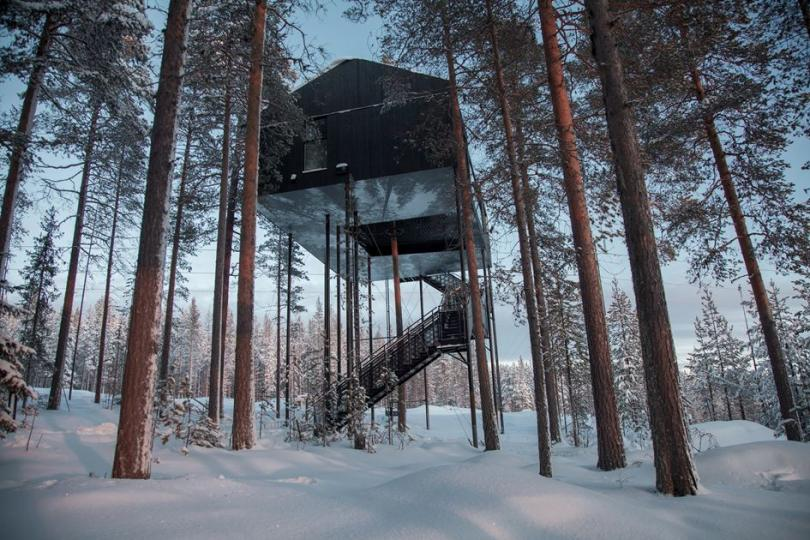 Treehotel The 7th Room in Harads, Sweden