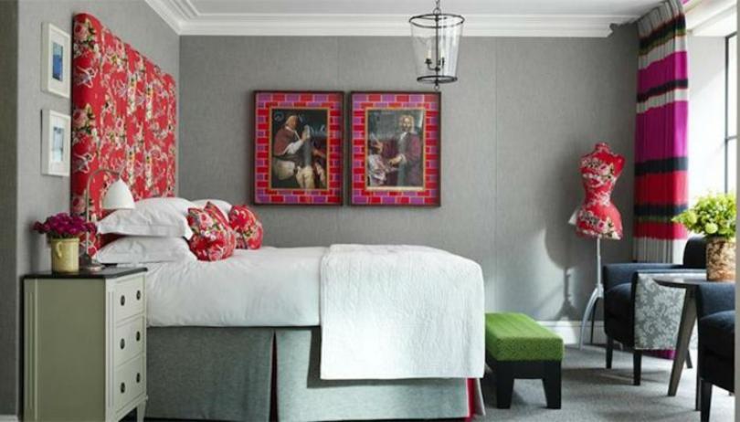 luxury design elegant british hotel London