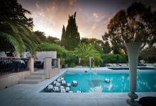 luxury villa outdoor French Riviera