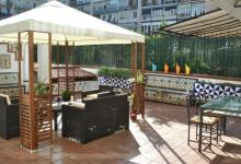 barcelona holiday fabrizzios terrace cheap accommodation